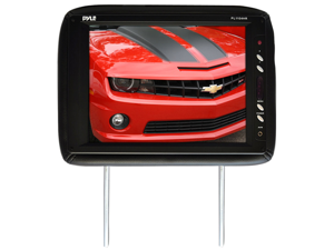 Pyle - Adjustable Headrest w/ Built-In 11.3'' TFT LCD Monitor and IR Transmitter