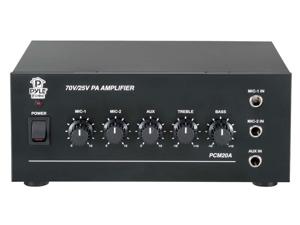 PyleHome - 40 Watt Power Amplifier w/ 25 & 70 Volt Output
