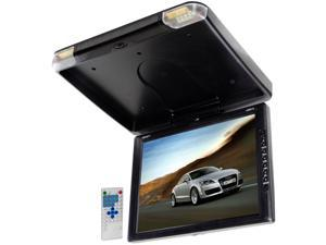Legacy - TFT Flip Down Roof Mount Monitor w/ Built-In DVD/MP3/MP4  Compatible Player w/ Wireless FM Modulator & IR Transmitter