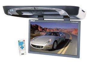 Pyle - 19'' Flip Down w/ Built In DVD/SD/USB Player w/ Wireless FM/ Modulator & IR Transmitter