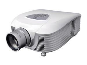 Pyle - LED Widescreen Projector with Up To 100-Inch Viewing Screen, Built-In Speakers & Supports 1080p