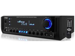 PyleHome - 200 Watt Digital Home Stereo Receiver System with USB Flash Reader