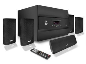 PylePro - 400 Watts 5.1 Channel HDMI Home Theater System With Bluetooth Audio Playback, AM/FM Tuner