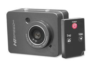 PyleSports - Hi-Speed HD 1080P Action Camera Hi-Res Digital Camera/Camcorder with Full HD Video, 12.0 Mega Pixel Camera & 2.4'' Touch Screen (Grey Color)