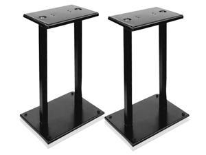 New Pyle PSTND18 Heavy-Duty Steel Quad Support Bookshelf / Monitor Speaker Stands (Pair)