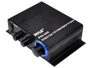 Pyle - 60 Watt Class-T Hi-Fi Audio Amplifier with AC Adapter Included