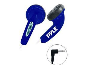 Pyle PEBH25BL Ultra Slim In-Ear Earbud Stereo Headphones for iPod/MP3/Any Media Player (Super Bass, Blue)