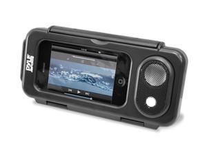 Surf Sound Play Universal Waterproof iPod, iPhone4 & iPhone5 MP3 Player & Smartphone Portable Speaker & Case (Color Black)