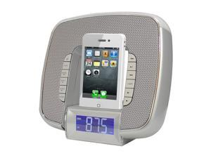 PyleHome - iPod & iPhone Docking/Aux input Clock Radio W/ FM Reciever & Dual Alarm Clock