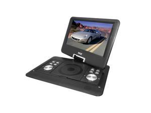 Pyle - 14'' Widescreen High Resolution Portable Monitor w/ Built-In DVD, MP3, MP4 Players, USB Port & SD Card Slot Readers