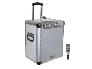 Battery Powered Portable PA System  W/Ipod Docking Station