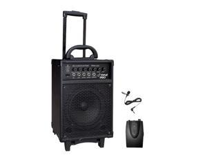 300 Watt Wireless Rechageable Portable PA System With Lavalier Microphone