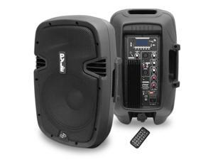 10'' 700 Watt Powered Two-Way Speaker With MP3/USB/SD/Bluetooth Streaming & Record Function w/Remote Control