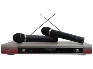 Dual VHF Wireless Microphone System