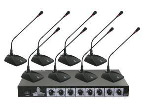Professional conference Desktop VHF Wireless Microphone System