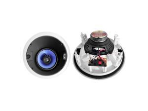 PyleHome - 250 Watt 6.5'' High Performance Directional Two-Way In-ceiling Speaker System w/Adjustable Treble Control