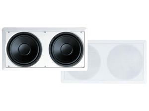 PyleHome - Dual 8'' In-Wall High Power in wall Subwoofer System