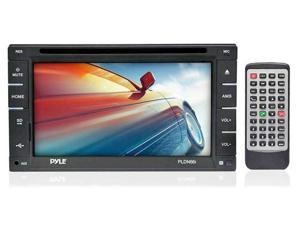 6.5'' Double DIN In-Dash Touch Screen TFT/LCD Monitor w/DVD/CD/MP3/MP4/CD-R/USB/SD-MMC Card Slot AM/FM