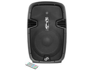 PylePro - Bluetooth 1400 Watt 15'' PA Speaker System, Bi-Amp, 2-Way Full Range, Class-D, Built-in 30 Pin iPod Dock, USB Flash/SD Memory Card Readers, Record Function, Remote Control