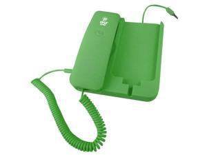Handheld Phone and Desktop Dock for iPhone (Green color)