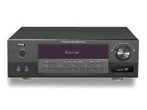 PyleHome - Bluetooth 5.1 Channel HDMI Digital Amplifier Receiver, 350 Watt, USB/SD Readers, AM/FM Radio