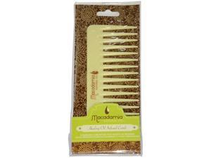 Healing Oil Infused Comb by Macadamia Oil for Unisex - 1 Pc Comb