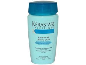 Dermo-Calm Bain Riche Haute Tolerance Shampoo by Kerastase for Unisex - 8.5 oz Shampoo