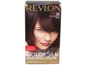 colorsilk Beautiful Color #32 Dark Mahogany Brown - 1 Application Hair Color