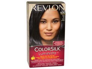 colorsilk Luminista #105 Bright Black - 1 Application Hair Color