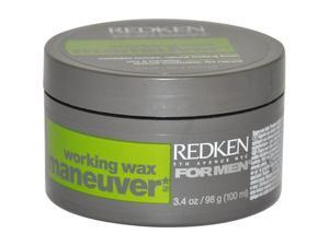Maneuver Work Wax by Redken for Unisex - 3.4 oz Wax