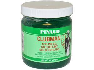 Clubman Styling Gel by Ed Pinaud for Men - 16 oz Gel