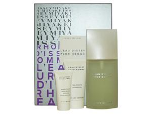 L'eau d'Issey Pour Homme by Issey Miyake 3 Piece Set