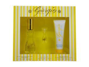 Giorgio by Giorgio Beverly Hills for Women - 3 Pc Gift Set 1.7oz EDT Spray, 1.6oz Body Moisturizer, 0.13oz EDT Splash
