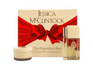 Jessica McClintock by Jessica Mcclintock for Women - 3 Pc Gift Set 3.4oz EDP Spray, 0.33oz EDP Roll On, 3.5oz Body Cream