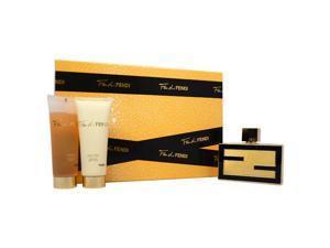 Fan di Fendi by Fendi for Women - 3 Pc Gift Set 2.5oz EDP Spray, 2.5oz Body Lotion, 2.5oz Perfumed Bath and Shower Gel