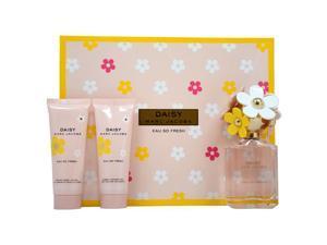 Daisy Eau So Fresh by Marc Jacobs for Women - 3 Pc Gift Set 2.5oz EDT Spray, 2.5oz Radiant Body Lotion, 2.5oz Bubbly Shower Gel
