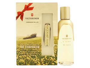 Swiss Army Victoria by Swiss Army for Women - 2 Pc Gift Set 3.4oz EDT Spray, Victoria Knife
