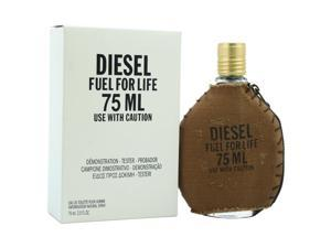 Diesel Fuel For Life Pour Homme by Diesel for Men - 2.5 oz EDT Spray (Tester)