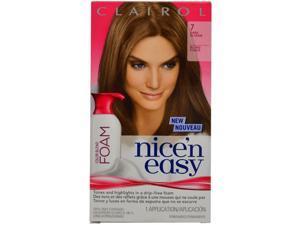 Clairol Nice 'N Easy Color Blend Foam Hair Color 7 Dark Blonde 1 Kit