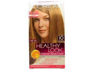 Healthy Look Creme Gloss Color # 7 Dark Blonde by L'Oreal Paris for Women - 1 Application Hair Color