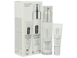 Even Better Together Duo - All Skin Types by Clinique for Unisex - 2 Pc Kit 1oz Even Better Clinical Dark Spot Corrector, 0.34oz Even Better Eyes Dark Circle Corrector
