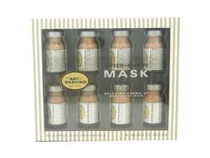 After-Shave Mask Purifying Rose Clay Essential Oils by The Art of Shaving for Men - 8 x 0.27 oz Mask