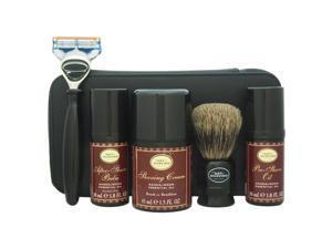 Travel Kit - Sandalwood by The Art of Shaving for Men - 7 Pc Kit