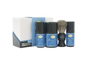 The 4 Elements of The Perfect Shave Mid-Size Kit - Lavender by The Art of Shaving for Men - 4 Pc Kit