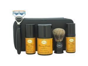 Travel Kit - Lemon by The Art of Shaving for Men - 7 Pc Kit 1oz Pre-Shave Oil