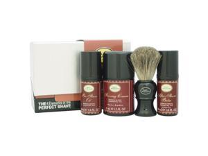 The 4 Elements of The Perfect Shave Mid-Size Kit - Sandalwood by The Art of Shaving - 4 Pc Kit