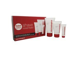 Shave Essentials Trio by Dermalogica for Men - 3 Pc Kit 1.5oz Daily Clean Scrub, 2.5oz Soothing Shave Cream, 0.33oz Post-Shave Balm
