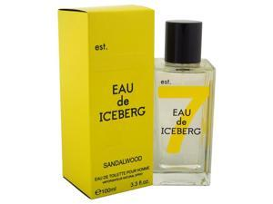 Eau de Iceberg Sandalwood EDT Spray 3.3 oz for Men 100% authentic never any knock offs.  Great for a gift