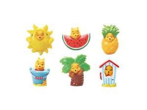Winnie the Pooh Peek-A-Pooh Summer Splash Cell Phone Strap - 6 piece