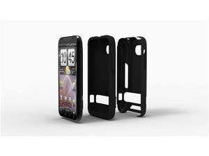 Acase(TM) Superleggera PRO Dual Layer Protection case for Verizon HTC ThunderBolt (Black)